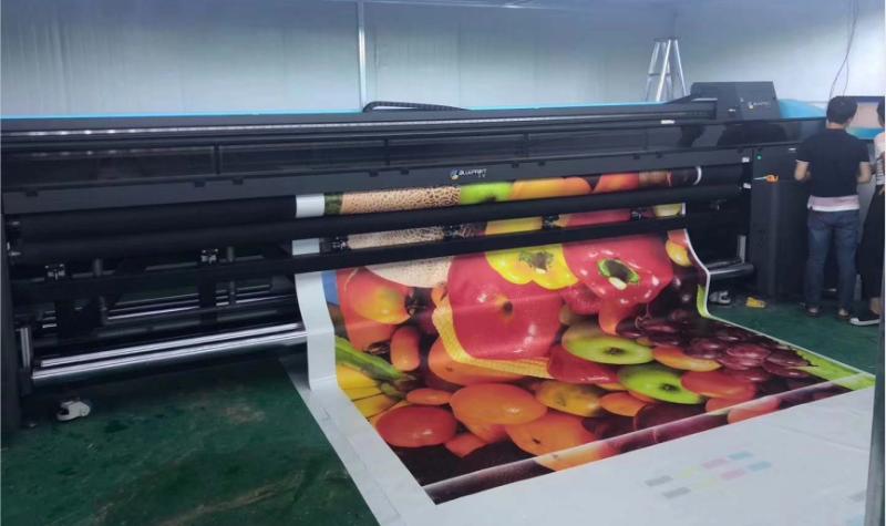 蓝图数码,软膜uv打印机