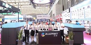 蓝图数码科技参加2019上海国际广告展
