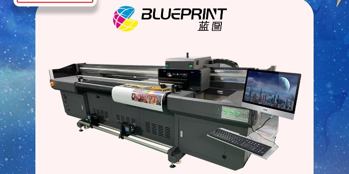 2021年新款皮革UV卷板一体打印机-【蓝图uv机】