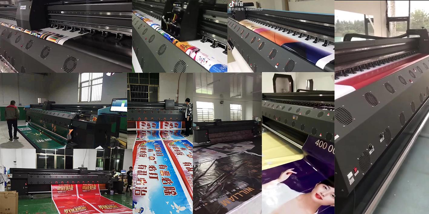 蓝图5米喷绘机,2019年征服了喷绘打印市场