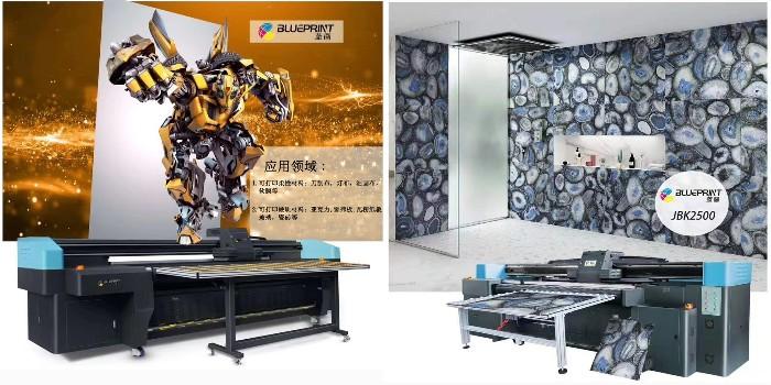 UV喷绘机之京瓷喷头的优势介绍--【蓝图UV机】