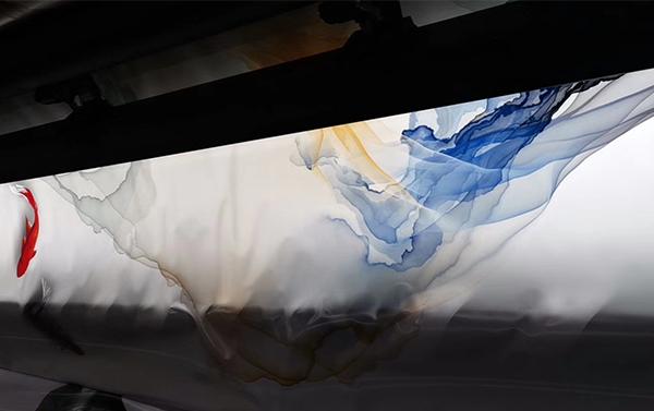 蓝图5米uv卷材机,软膜打印