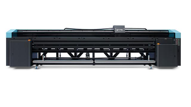 重型4胶辊5米uv卷材机