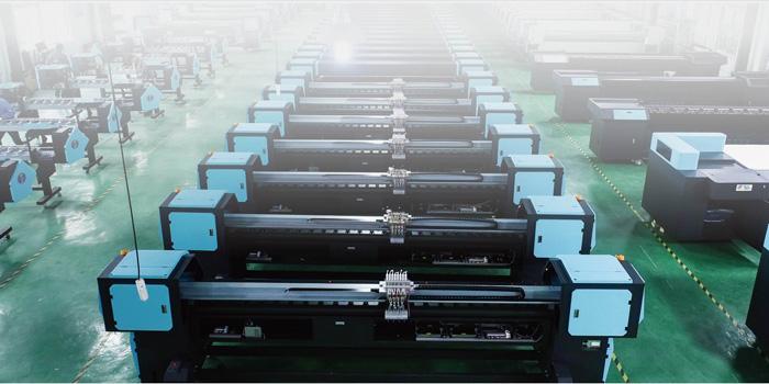 蓝图卷板一体uv机高精度、快速度、更稳定!