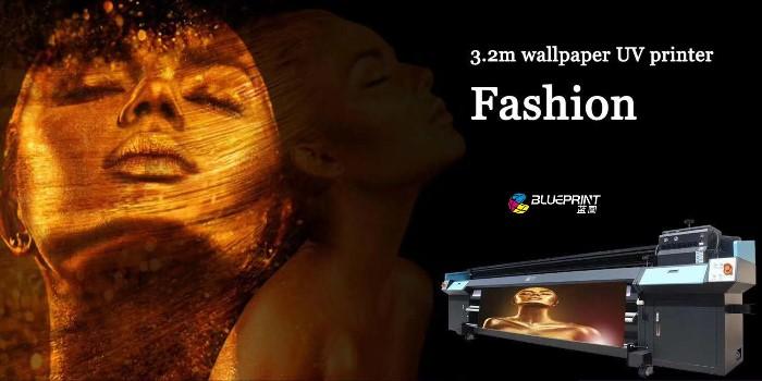 【蓝图数码分享】UV机如何打印客厅电视背景墙
