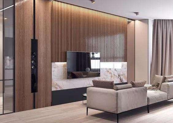 木质背景墙