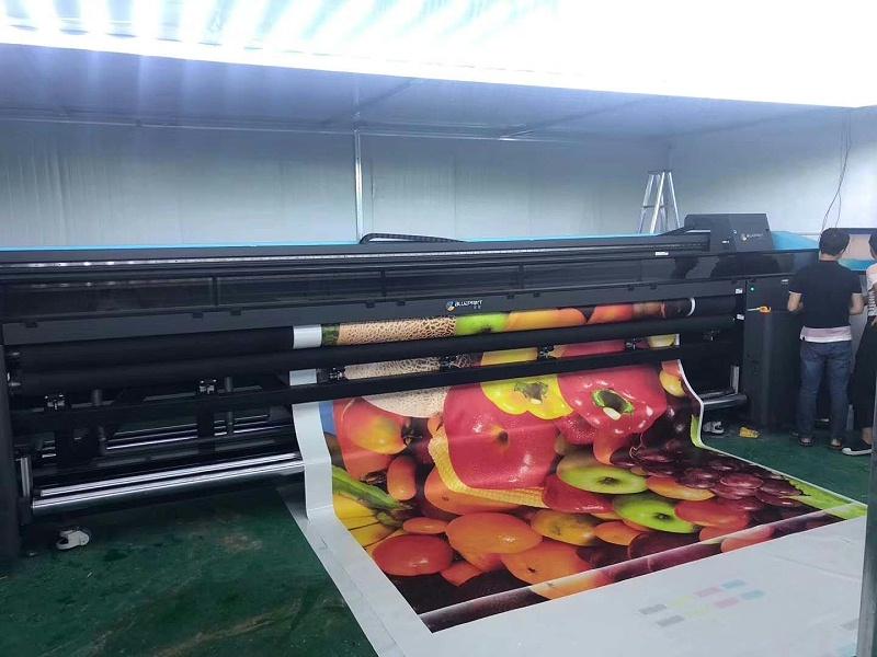 蓝图5米uv软膜打印机